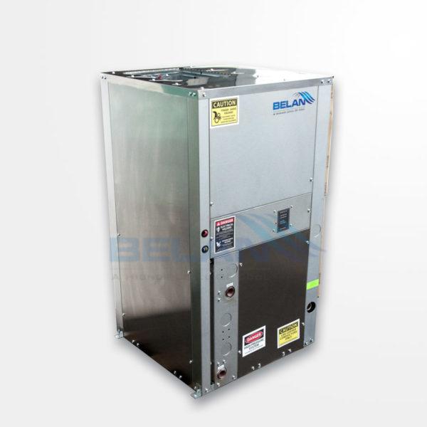 Geothermal water source heat pump vertical units