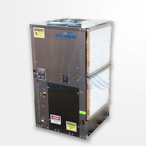Geothermal water source heat pump units